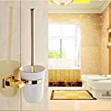IYUEGO Ti-PVD Wall Mounted Brass Material Toilet