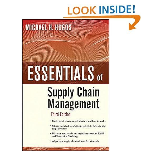 Essentials Of Supply Chain Management Third Edition
