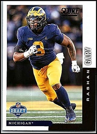 info for 005f4 d4f1f Amazon.com: 2019 Score NFL Draft #25 Rashan Gary Michigan ...
