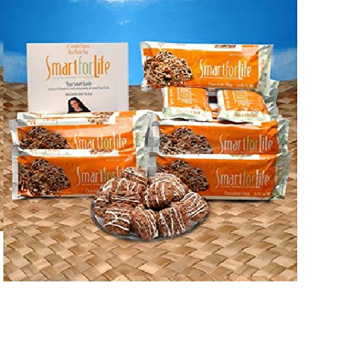 Smart for Life 14-Day Meal Replacement Diet Cookies, Chocolate Chip, 1 ea by Smart for Life