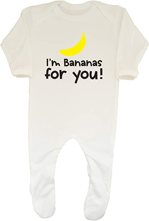 Shopagift Baby Im Bananas for You Sleepsuit Romper