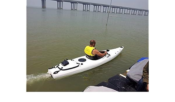 Amazon com : 4 Stroke Engine Gasoline Powered Canoe