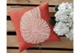 Ashley Lonan Throw Pillow Cover in Coral (Set of 4)
