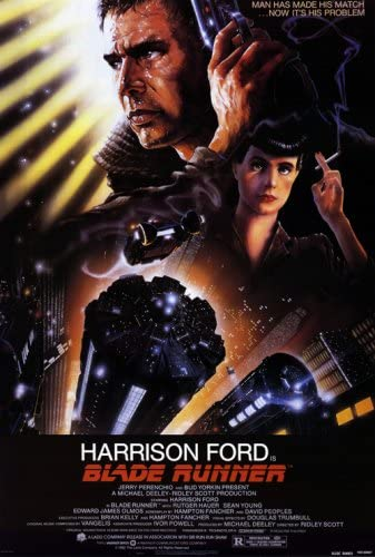 Amazon.com: Pop Culture Graphics Blade Runner 27x40 Movie Poster: Prints:  Posters & Prints