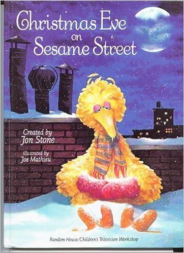 Christmas Eve On Sesame Street.Christmas Eve On Sesame Street Sesame Street 9780394847337