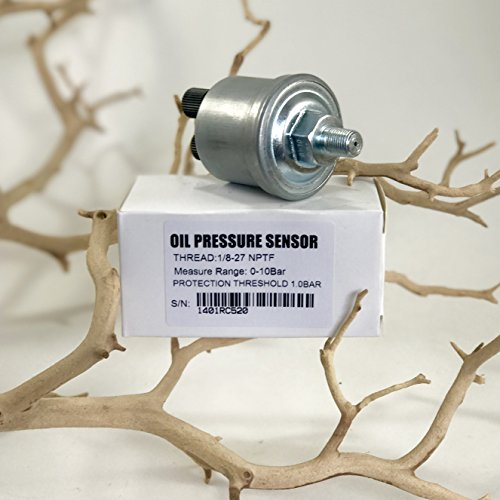 Pressure Sender Switch Equivalent to VDO 360-025 Switching at 15 PSI - 1 Year (Thread Sender)