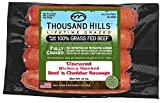 Uncured Hickory Smoked Beef 'n Cheddar Sausage 3 oz (8 units @ 12 oz)