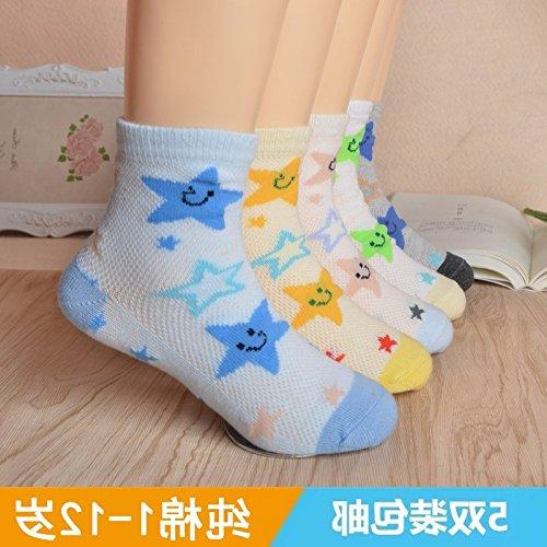 Children purchase Japanese summer cotton lace fishnet stockings thin cotton socks baby boys and girls socks baby socks 3-