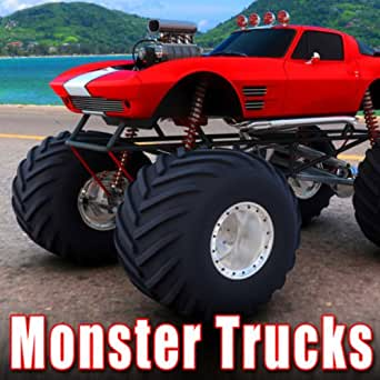 Monster Truck Approach At Fast Speed Enters Heavy Mud And Water Pit With Spinning Tires By Sound Ideas On Amazon Music Amazon Com