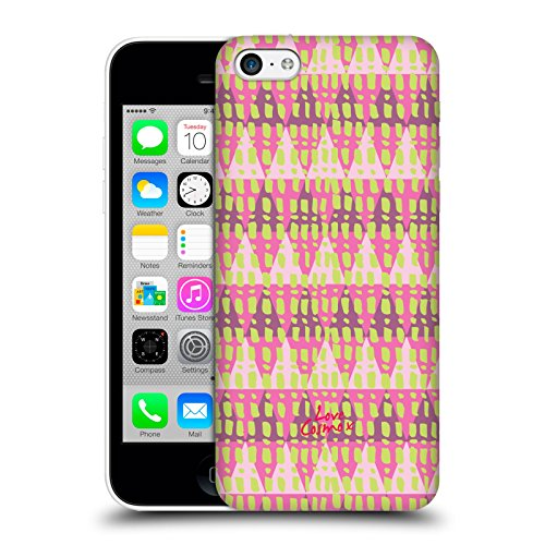 Official Cosmopolitan Triangles Aztec Brights Hard Back Case for Apple iPhone 5c