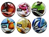 ONE Color Flavor Waves Assorted Condoms - 24 Latex Condoms by Unknown
