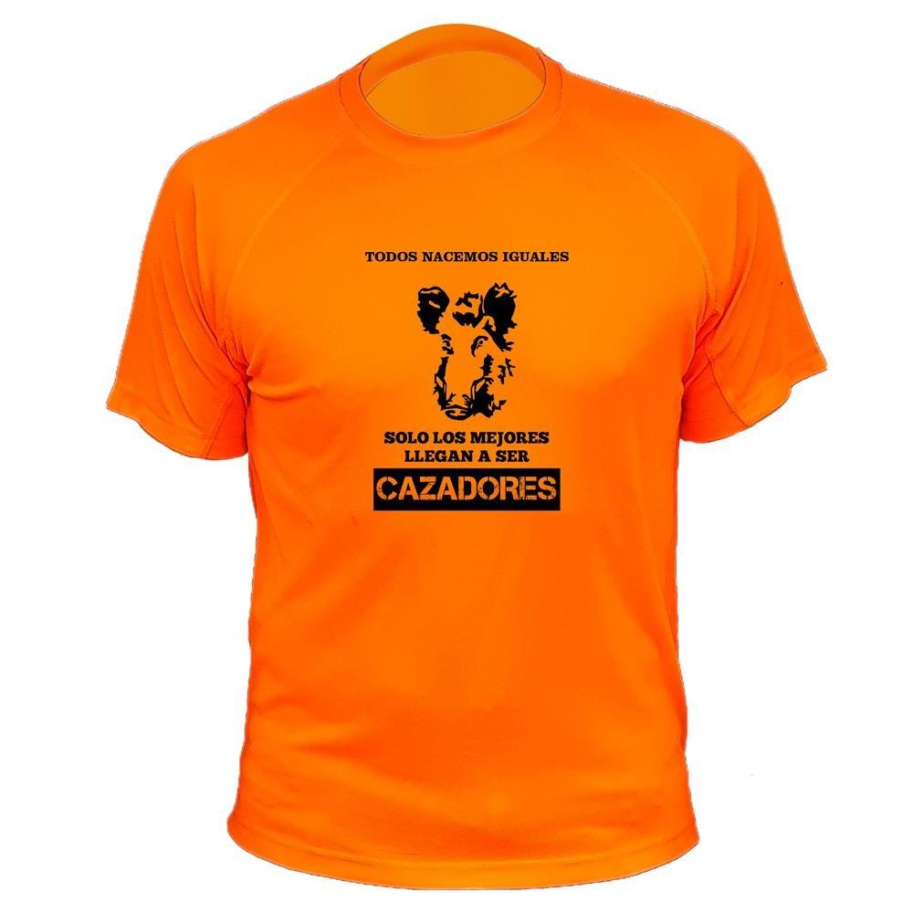 Camisetas de caza, Jabalí Perfil, Todos nacemos iguales solo los mejores llegan a ser cazadores, Día del Padre AtooDog