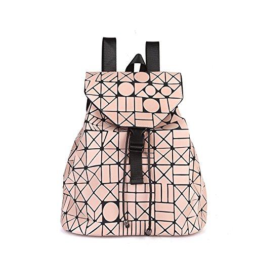 à Pink Mat Nouveau à Bandoulière à MYLL Main Lingge Sac à Pliant Sac Mode Sac Pink Bandoulière La qfqwTXP
