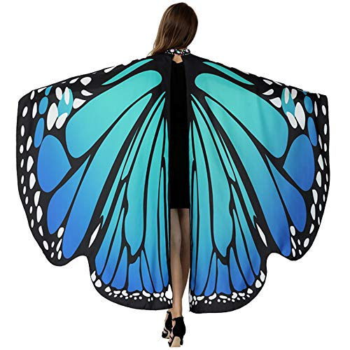 HITOP Butterfly Wings For Women, Butterfly Shawl