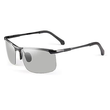 Gafas de sol HL Día y noche gafas polarizadas que cambian de color Conducción Hombres Ojos