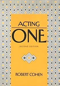 Acting One by Robert Cohen (1991-09-24)