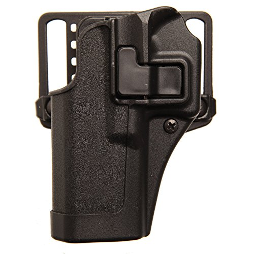 Glock 27 Paddle Holster (BlackHawk Serpa CQC Belt Loop and Paddle Holster For Glock 26/27/33, Right Hand, Matte Black - 410501BK-R)