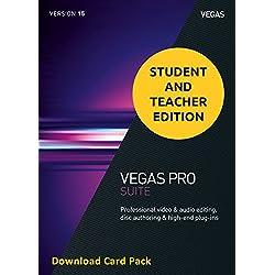 Magix Vegas Pro 15 Suite for Students & Teachers (Download Card)