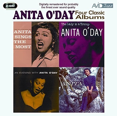 Avid Cd - Four Classic Albums: Anita Sings the Most/The Lady Is a Tramp/An Evening With Anita O'Day/This Is Anita