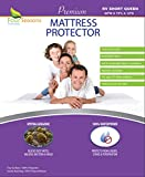 Four Seasons Essentials RV Short Queen Waterproof Mattress Protector (60'' Wx75 L) - Fitted Sheet Style - Hypoallergenic Premium Quality Cover Protects Against Dust Mites, Allergens
