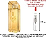 1 Million Cologne by Paco Rabanne Glass Mini Travel Spray for Men (3ml)
