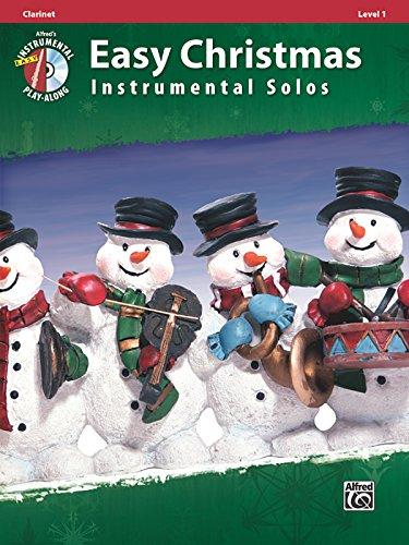 Easy Christmas Instrumental Solos, Level 1: Clarinet, Book & CD (Easy Instrumental Solos Series)