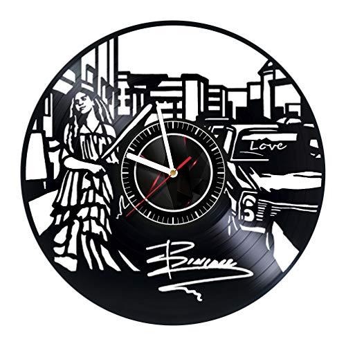 ArtoriDesign18 Beyonce - Wall Clock Made of Vinyl