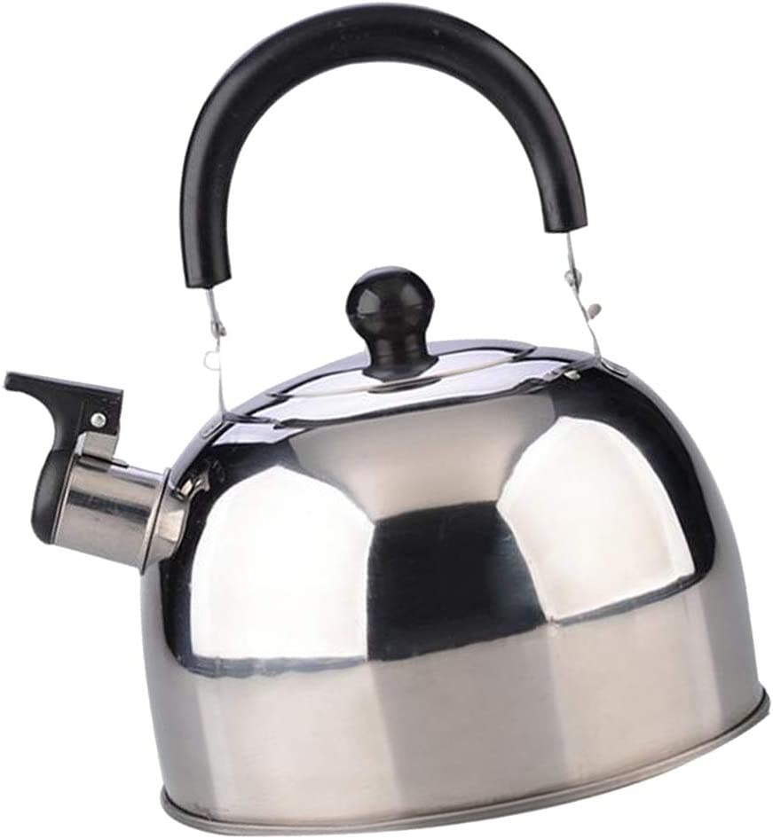 3L LOVIVER Fl/ötenkessel Kaffeekessel Wasserkessel Wasserkocher mit rutschfest Griff