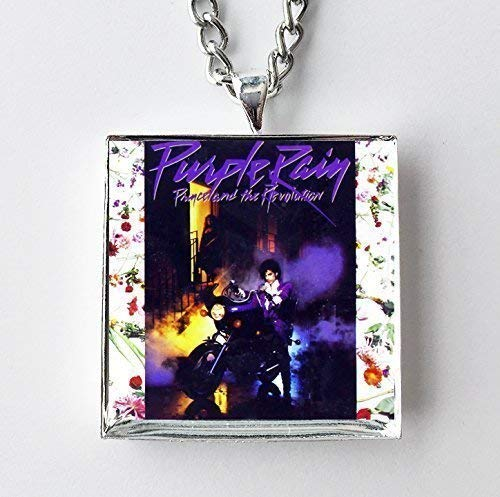 Album Cover Art Necklace - Prince - Purple Rain ()