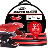 Best copper jumper cable - TOPDC Battery Jumper Cables 1-Gauge 25-FT 700Amp Heavy Review