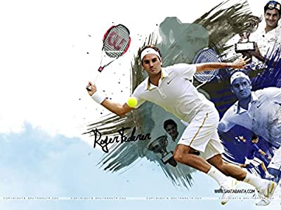 Roger Federer Poster Paper Print(12 Inch X 18 Inch, Rolled By A-ONE POSTERS