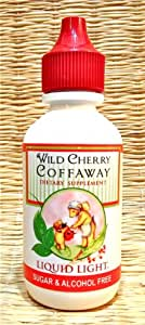 Wild Cherry Coffaway (2 oz Bottle) - Cold Season Support, All Natural Cough Syrup.
