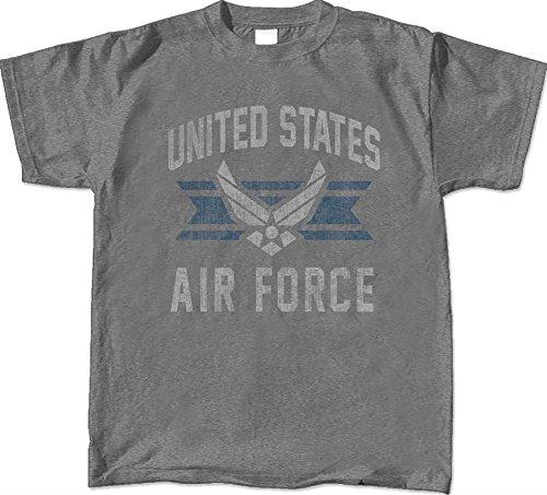 Force Air T-shirt Adult - US Air Force Vintage Distressed Logo Joe Blow T-shirt TADRF