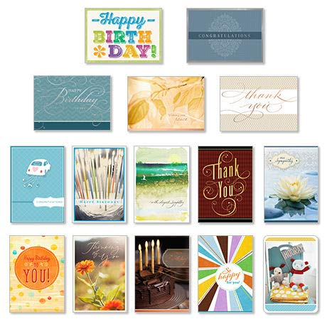 Hallmark business greeting cards for all occasions 75 assorted cards hallmark business greeting cards for all occasions 75 assorted cardspack of 75 assorted greeting reheart Image collections