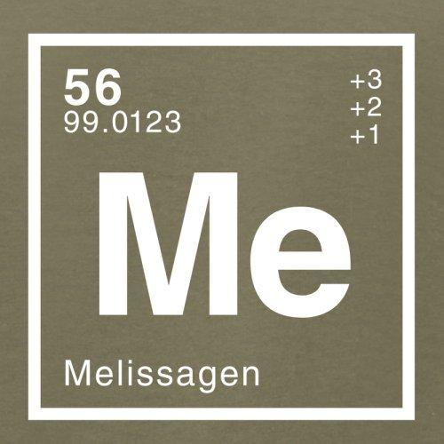 Melissa Periodensystem - Herren T-Shirt - Khaki - S