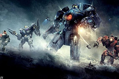 Pacific Rim Jaegers Nice Silk Fabric Cloth Wall Poster for sale  Delivered anywhere in USA