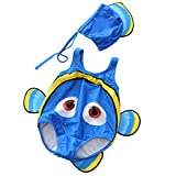 Zhongkeyi Baby Swimsuit Swimmable Swimwear