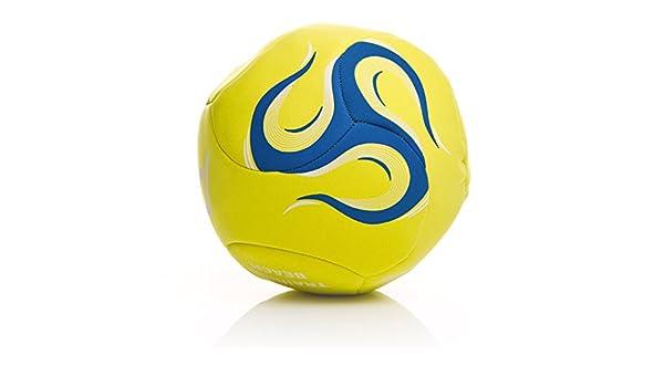 Dafor Balón Fútbol Playa Training Amarillo Fluor (Talla: 5 ...