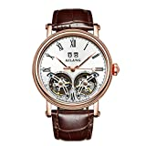 AILANG New Arrival Double Tourbillons Auotmatic Watches Fashion Business Calendar Dress Wrist watch