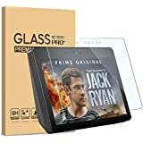 [2 Pack] KATIAN Screen Protector for Echo Show 2nd, HD Clear Protector [Anti-Scratch] [No-Bubble], 9H Hardness Tempered Glass Screen Film for Amazon Echo Show (2ndGen)10.1'