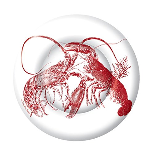 - Boston International 8 Count Caskata Studio Round Paper Dessert Plates, Red Lobster