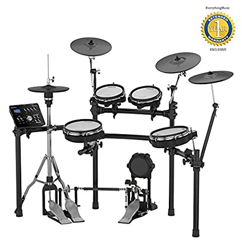 Roland TD-25KV V-Drums Electronic Drum Set with 1 Year Free Extended Warranty (Roland Electronic V Drums)