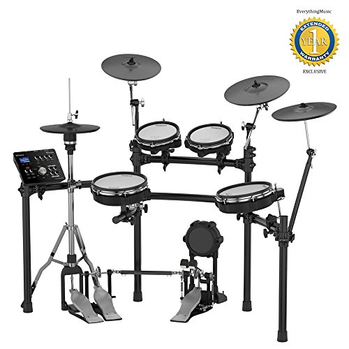 Roland TD-25KV V-Drums Electronic Drum Set with 1 Year Free Extended Warranty by R O L A N D