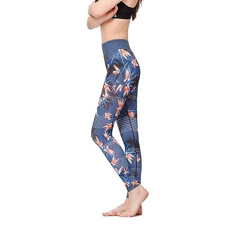 WEICHUNC Yoga Legging- Capris Entrenamiento - Mallas de ...