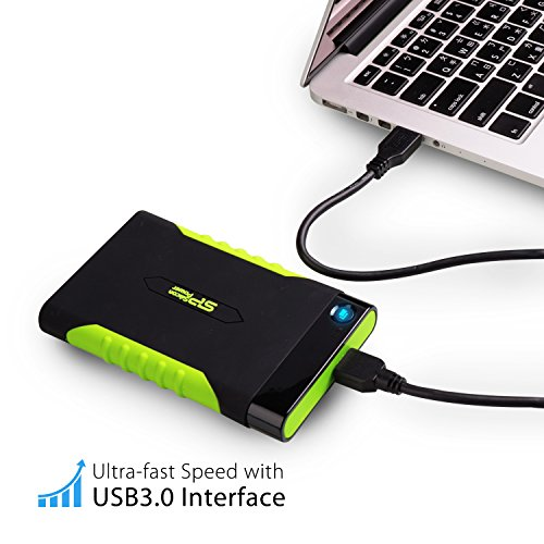 Silicon Power 2TB Rugged Armor A15 Military-grade Shockproof USB 3.0 2.5-inch Portable External Hard Drive for PC and Mac (SP020TBPHDA15S3KAZ) by Silicon Power (Image #6)