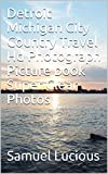 Detroit Michigan City Country Travel Hd Photograph Picture book Super Clear Photos