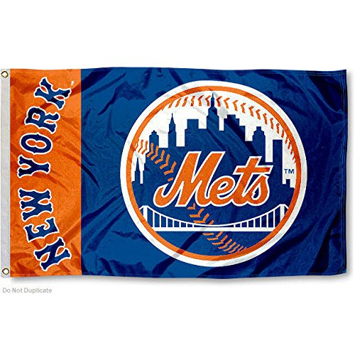 New York NY Mets Flag 3x5 MLB Banner