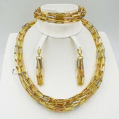 Buy New trends ZuoDi Fashion African Brand Jewelry sets