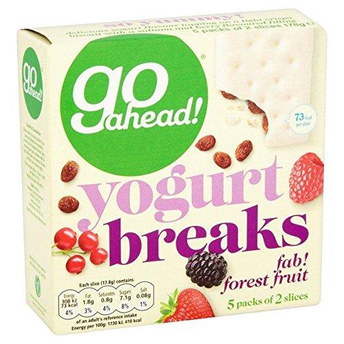 Go Ahead Yoghurt Breaks Forest Fruit - 5 per pack ()