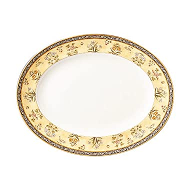 Wedgwood India 13-3/4-Inch Oval Platter